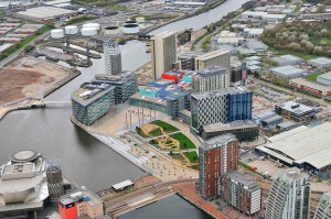 09_ChapmannTaylor_MediaCityUK_aerial_view